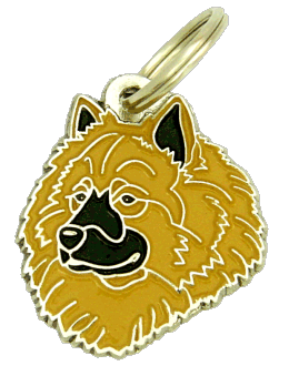 EURASIER FAWN - pet ID tag, dog ID tags, pet tags, personalized pet tags MjavHov - engraved pet tags online